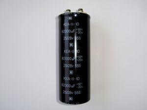 82,000 uF / 25/28V